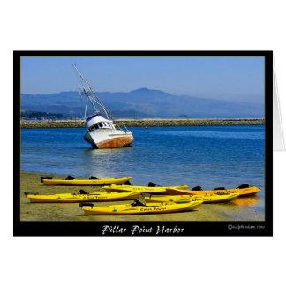 Puerto del punto del pilar--Kajaks - bahía de Tarjeta Pequeña