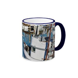 Puerto del punto del pilar taza de café