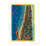 Puerto del yate, las palizadas, y Santa Mónica Tarjetas Postales
