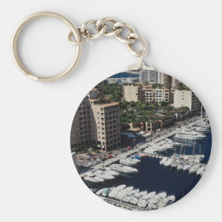 Puerto del yate, Mónaco Llavero Redondo Tipo Pin