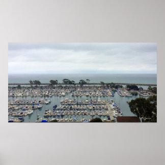 Puerto deportivo de Dana Point Posters