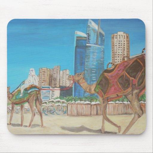 Puerto deportivo de Dubai Alfombrilla De Ratones