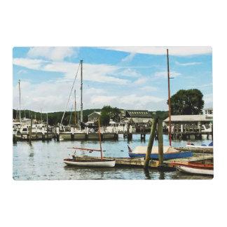Puerto deportivo de Essex CT Salvamanteles
