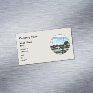 Puerto deportivo de Essex CT Tarjetas De Visita Magnéticas (paquete De 25)