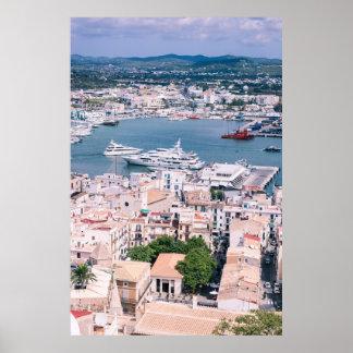 Puerto deportivo de Ibiza Póster