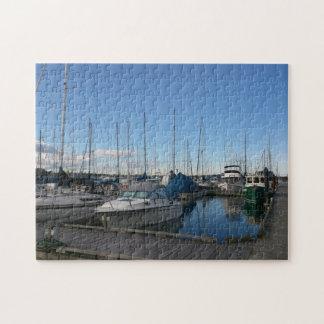 Puerto deportivo de la bahía del roble puzzle