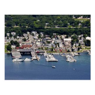Puerto deportivo de la ciudad de Harbor Springs, M Tarjeta Postal