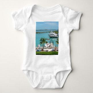 Puerto deportivo de la isleta del halcón body para bebé