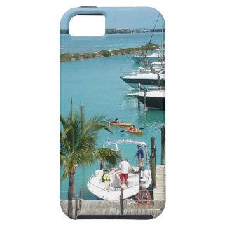 Puerto deportivo de la isleta del halcón funda para iPhone 5 tough