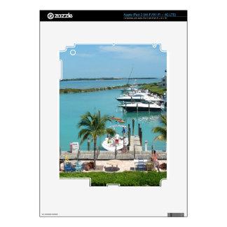Puerto deportivo de la isleta del halcón iPad 3 pegatinas skins
