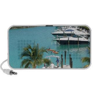 Puerto deportivo de la isleta del halcón iPod altavoz