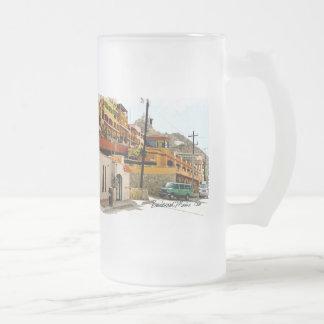 Puerto deportivo del bulevar taza de 2 vidrios esm