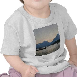 Puerto deportivo del lago jackson en la oscuridad camiseta