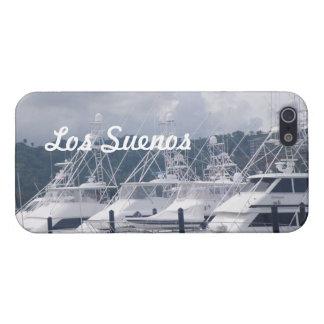 Puerto deportivo del Los Suenos iPhone 5 Protectores