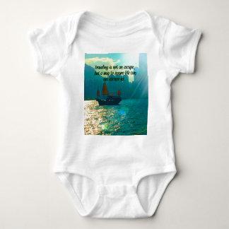 Puerto escénico de Victoria de la cita que viaja Body Para Bebé
