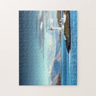 Puerto escénico escocés de Oban de la opinión del Puzzle Con Fotos