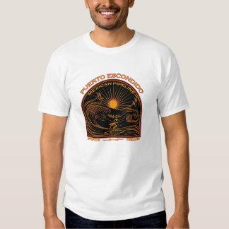 PUERTO ESCONDIDO MEXICAN SURFING T-Shirt