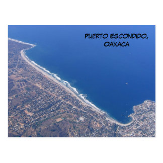 Puerto Escondido, Oaxaca Postcard