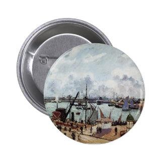 Puerto externo de Camilo Pissarro- de Le Havre Pins