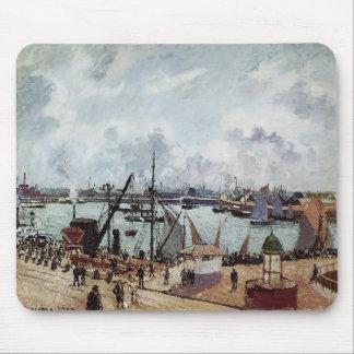 Puerto externo de Camilo Pissarro- de Le Havre Alfombrilla De Ratones