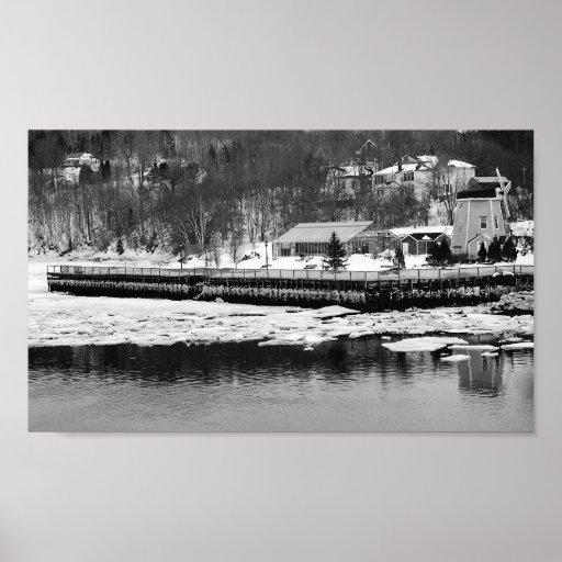 Puerto fluvial poster