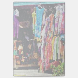 Puerto franco, Bahamas - compras en el mercado de Notas Post-it®