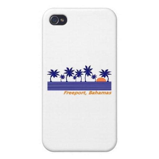 Puerto franco, Bahamas iPhone 4 Cárcasas