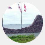Puerto histórico NL de la nave del monumento de la Pegatina Redonda
