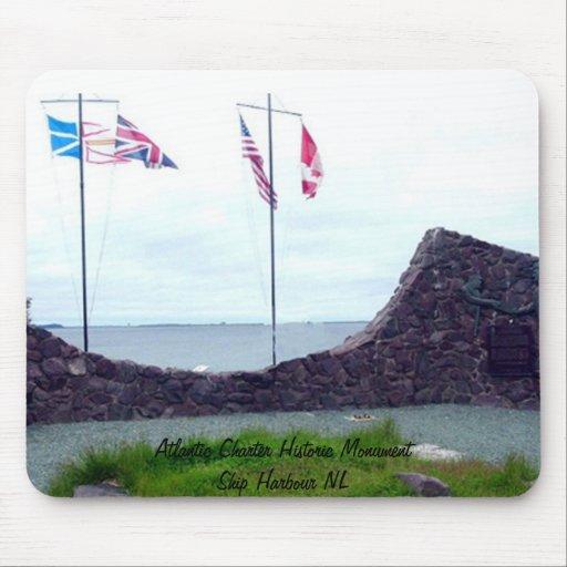 Puerto histórico NL de la nave del monumento de la Alfombrilla De Ratón