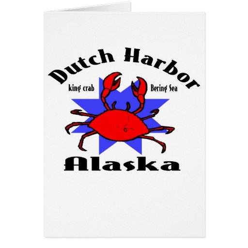 Puerto holandés Alaska Felicitaciones