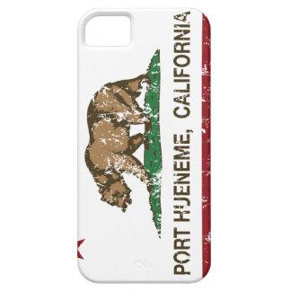 Puerto Hueneme de la bandera del estado de Califor iPhone 5 Case-Mate Protector
