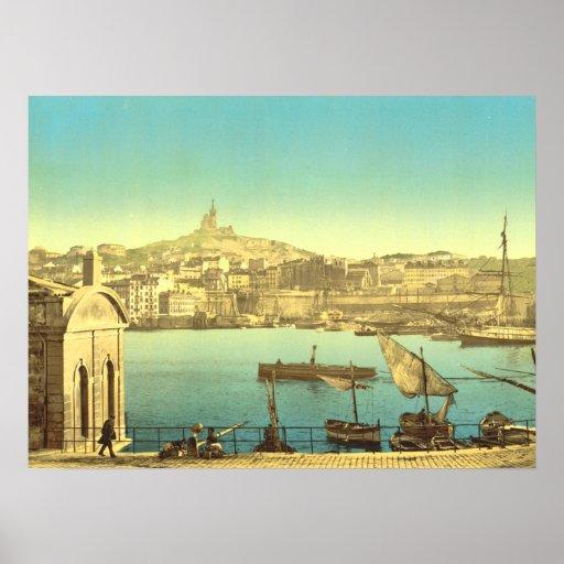 Puerto I de Marsella Póster