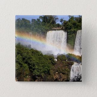Puerto Iguazu, Argentina. The breathtaking Pinback Button