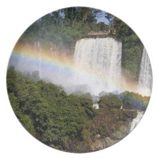 Puerto Iguazu, Argentina. The breathtaking Party Plate