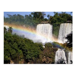 Puerto Iguazu, Argentina. The breathtaking Postcard