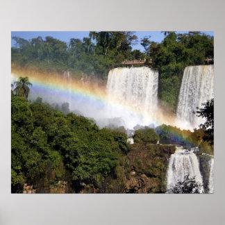 Puerto Iguazu, Argentina. The breathtaking Poster