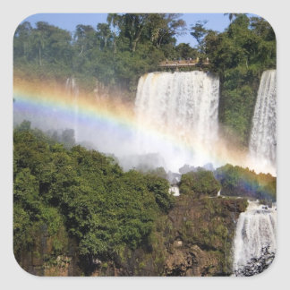 Puerto Iguazu, Argentina. The breathtaking Square Sticker