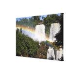 Puerto Iguazu, la Argentina. El impresionante Lona Estirada Galerias