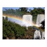 Puerto Iguazu, la Argentina. El impresionante Tarjeta Postal