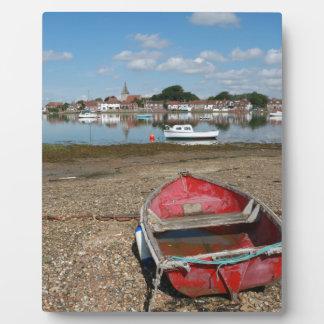 Puerto Inglaterra del atontamiento Bosham Placas De Plastico