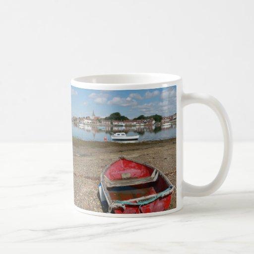 Puerto Inglaterra del atontamiento Bosham Taza De Café