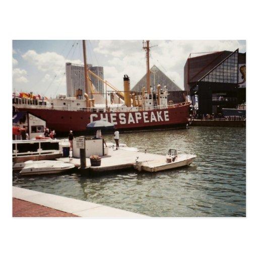 Puerto interno de Baltimore Postales