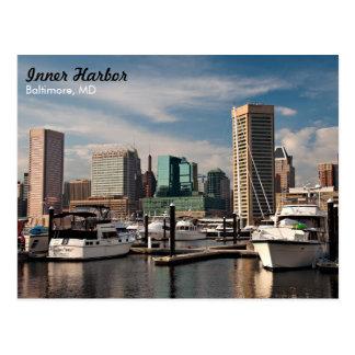 Puerto interno de Baltimore Tarjetas Postales