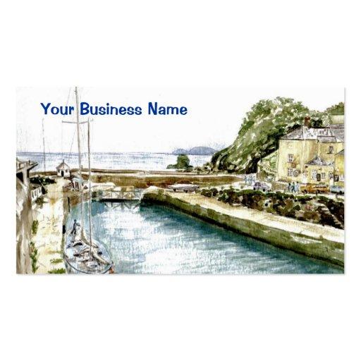 """Puerto interno, tarjeta del perfil de Charlestown Tarjetas De Visita"