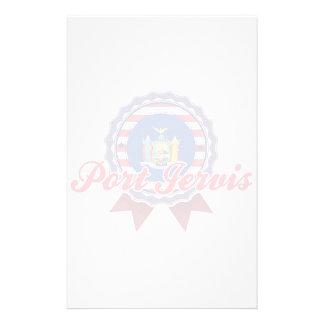 Puerto Jervis NY Papeleria Personalizada