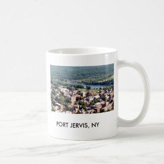 PUERTO JERVIS NY TAZA DE CAFÉ
