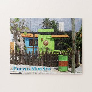 Puerto Morelos Casa Jigsaw Puzzle