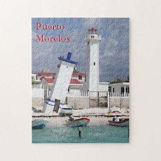 Puerto Morelos Lighthouse Jigsaw Puzzle