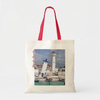 Puerto Morelos Lighthouse Tote Bag