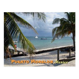 Puerto Morelos, Mexico Postcard
